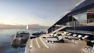 Ritz-Carlton Yacht Collection Marina Deck